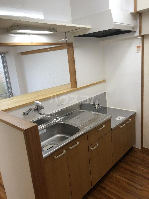 宮里マンション 306号室のキッチン