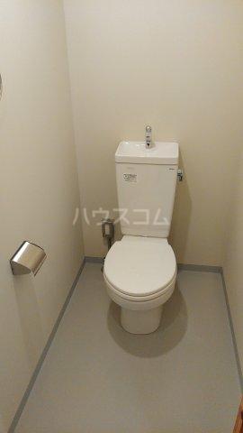 63ビル 505号室のトイレ