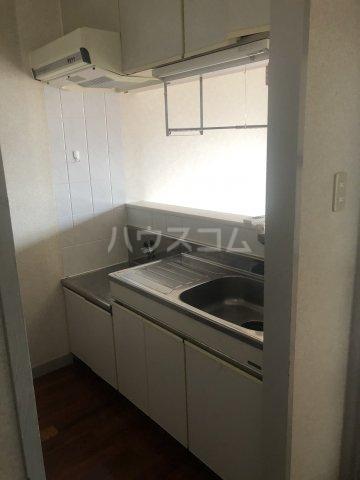 シティパレス 3-B号室のキッチン