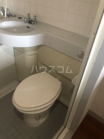 シティパレス 3-B号室のトイレ
