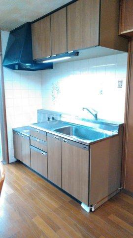 コミュニティ・ヴィレッジ 20A号室のキッチン