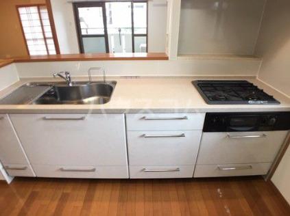 ライオンズマンション新都心 206号室のキッチン