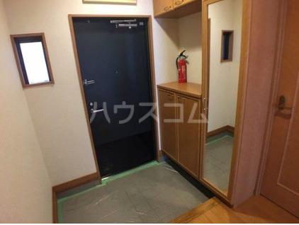 ライオンズマンション新都心 206号室の玄関