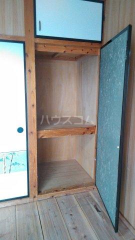 シャトレM 303号室の収納