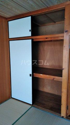 丸平アパート 302号室の収納