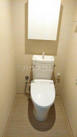 La mer 久茂地 403号室のトイレ