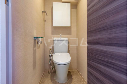 La mer 久茂地 701号室のトイレ