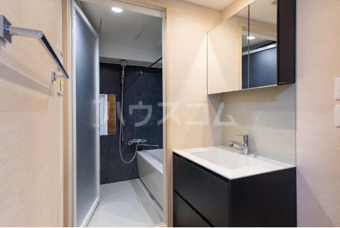 La mer 久茂地 701号室の洗面所