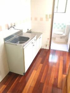 コーポ高良Ⅲ 410号室のキッチン