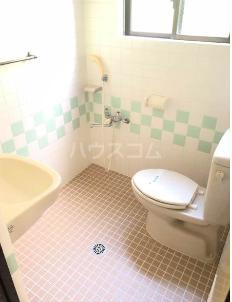 コーポ高良Ⅲ 410号室のトイレ