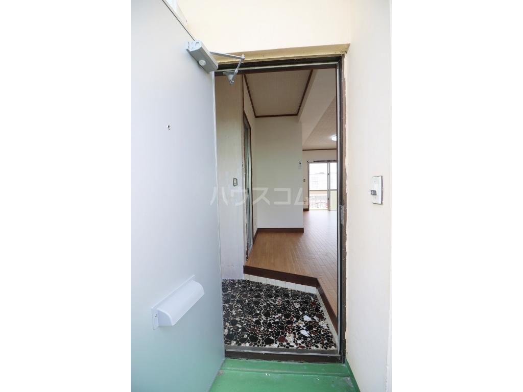 コーポ榮 B-1号室の玄関