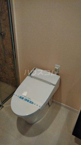 セゾンライト 403号室のトイレ