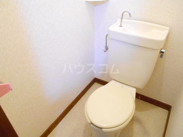 アローハウス 102号室のトイレ
