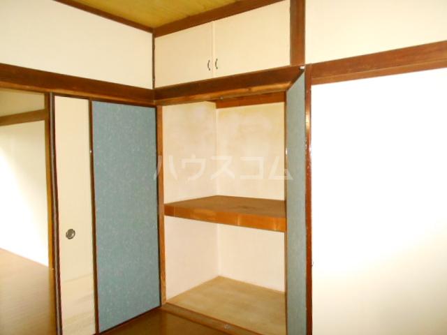 アローハウス 102号室の収納