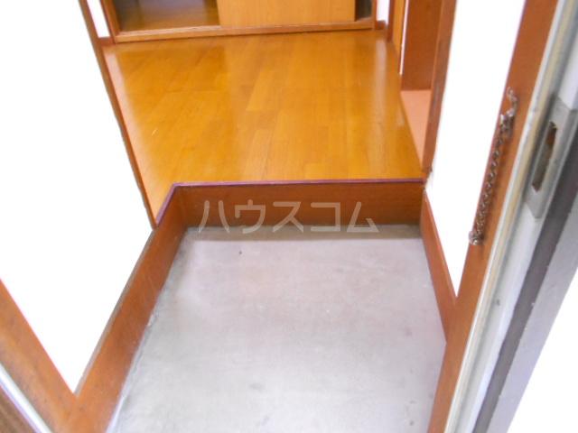 アローハウス 102号室の玄関