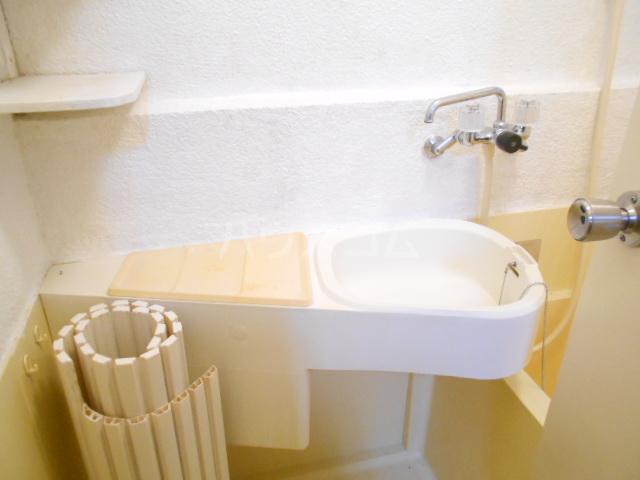 アローハウス 102号室の洗面所