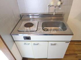 木村コーポ 103号室のキッチン