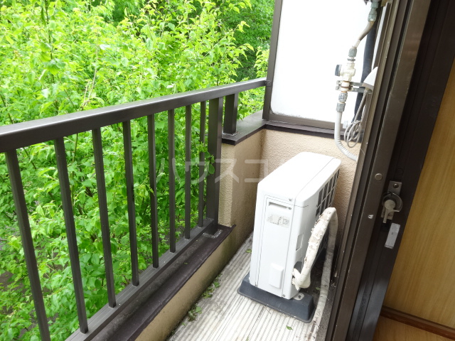 コーポ市瀬NO3 202号室のバルコニー
