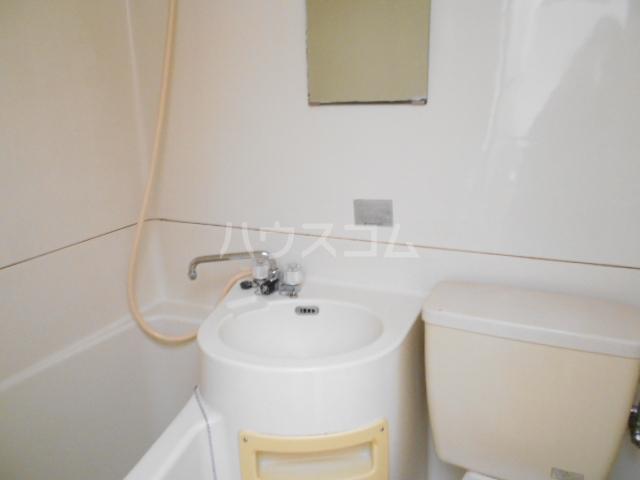 サンテラス 203号室の洗面所