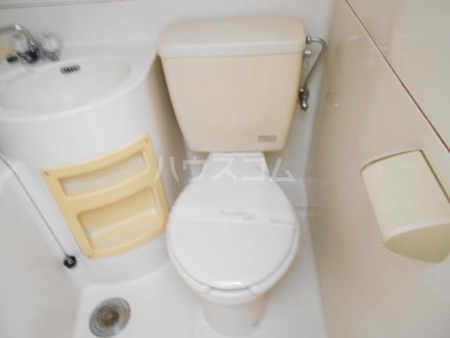 サンテラス 203号室のトイレ
