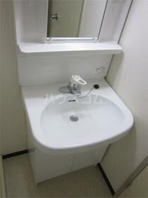 加司馬マンション 205号室の洗面所