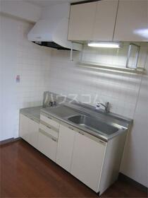 加司馬マンション 205号室のキッチン
