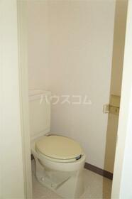 加司馬マンション 205号室のトイレ
