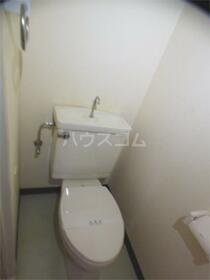 加司馬マンション 307号室のトイレ