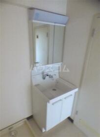 加司馬マンション 307号室の洗面所