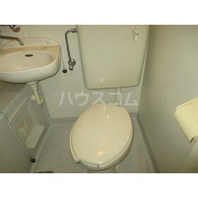 アルス東府中 202号室のトイレ