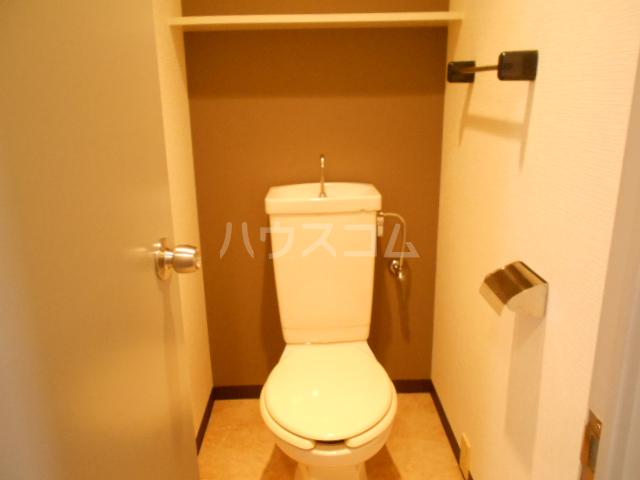 ベルテ桜 306号室のトイレ
