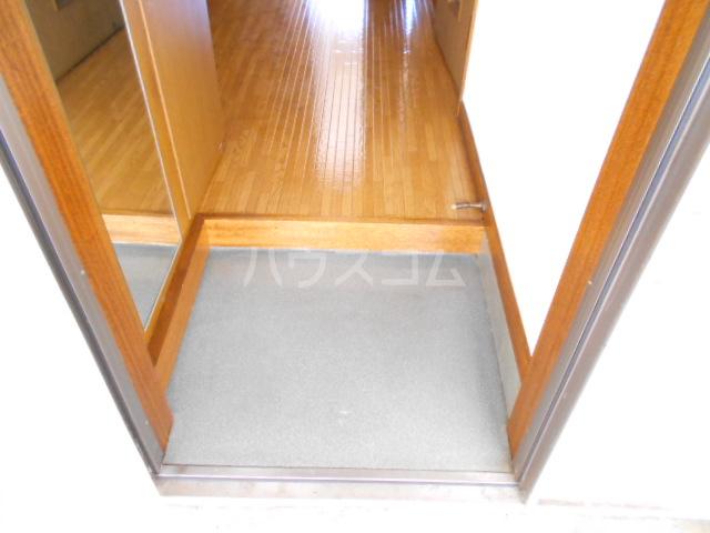 松村ハイツ 201号室の玄関