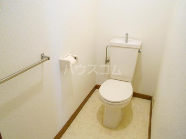 松村ハイツ 201号室のトイレ