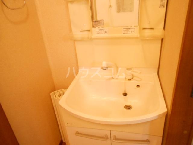 リリズマンション 303号室の洗面所