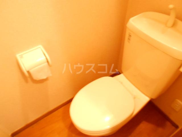 リリズマンション 303号室のトイレ