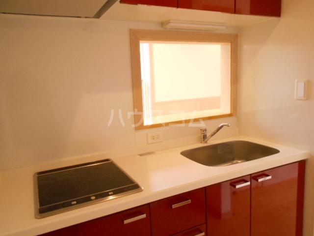 プリマ府中清水ヶ丘 204号室のキッチン