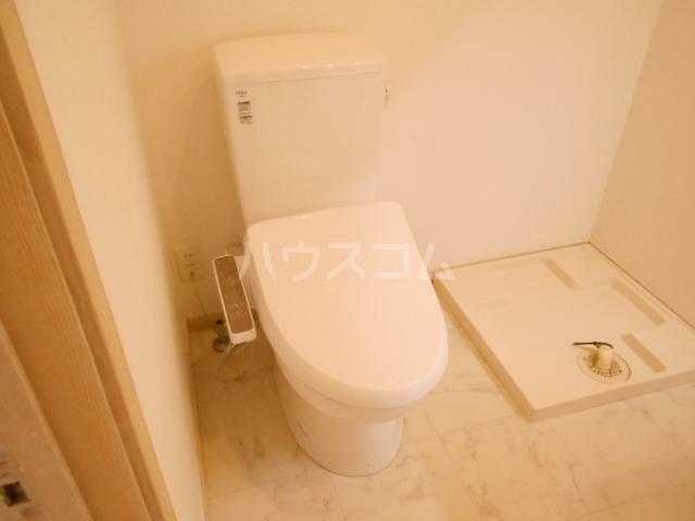プリマ府中清水ヶ丘 204号室のトイレ