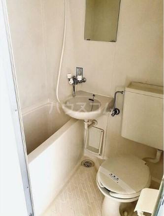 府中グランセ 403号室のトイレ