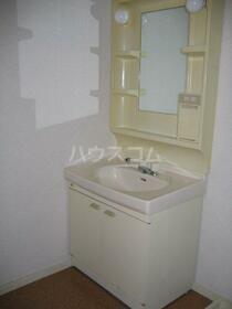 ウイングヒルズ 102号室の洗面所