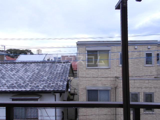 川口コーポ 301号室の景色