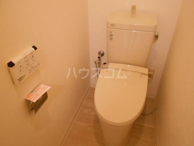 コーポ敬和 201号室のトイレ