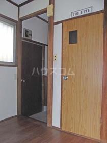 ときわ荘 103号室の玄関