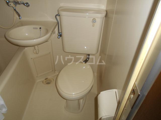 タートルストーンビル 110号室のトイレ