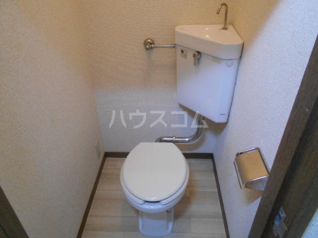 第二サフランハイツ 2-B号室のトイレ