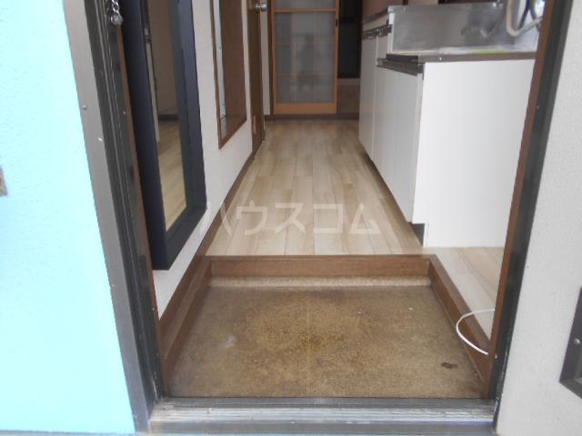 第二サフランハイツ 2-B号室の玄関