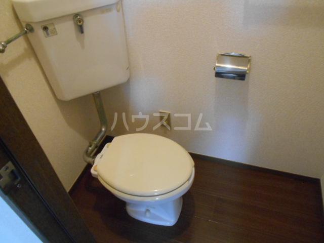 弥生ハイツ 201号室のトイレ