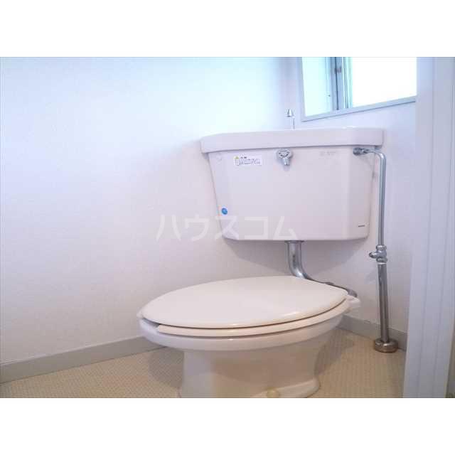 富士見コーポ 204号室のトイレ