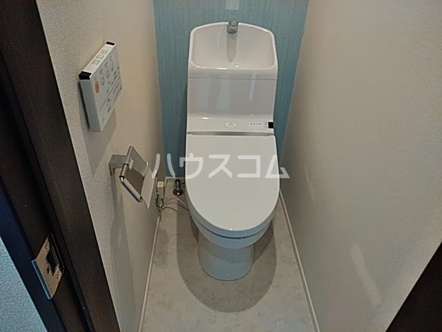 ヒルズ踊場 103号室のトイレ