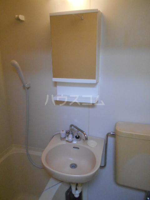 グリーンハイム片岡 205号室の洗面所