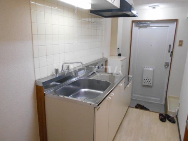 グリーンハイム片岡 205号室のキッチン